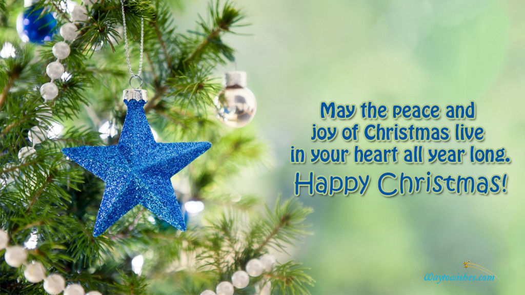 May The Peace And Joy