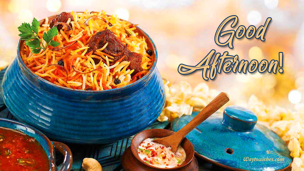 Good Afternoon Biryani