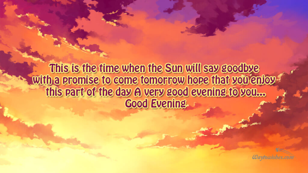 This is the time when the Sun will say