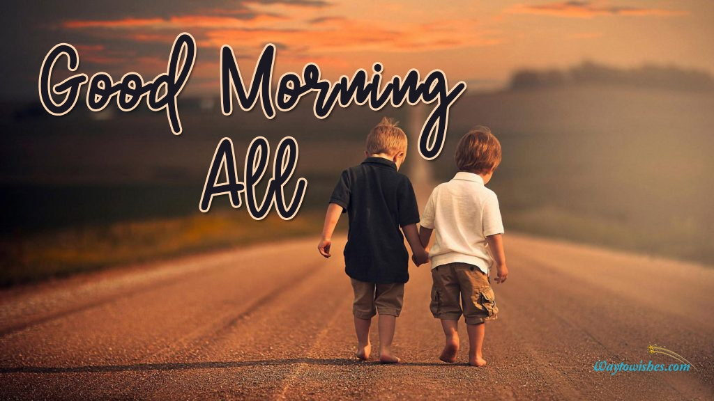 Good Morning All Friends Image