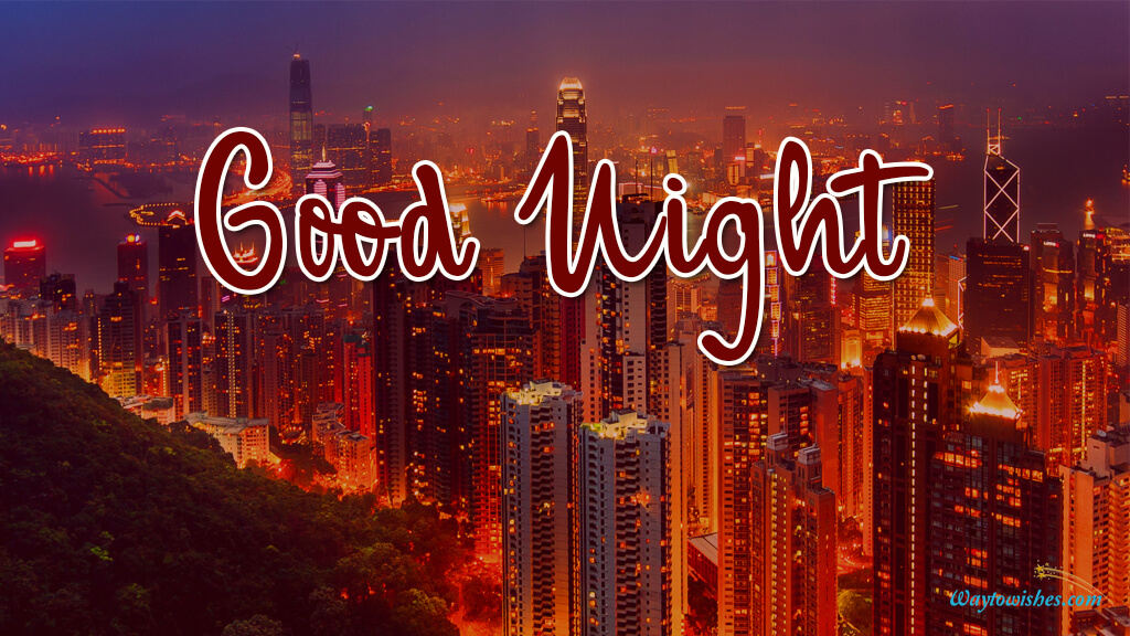 Good Night Chinese Images