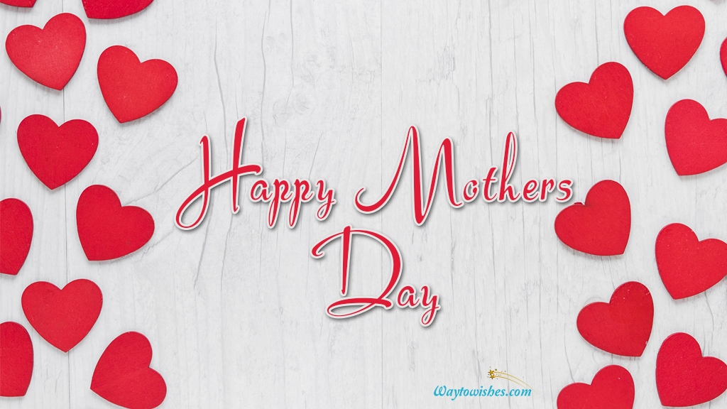 Happy Mothers Day Heart