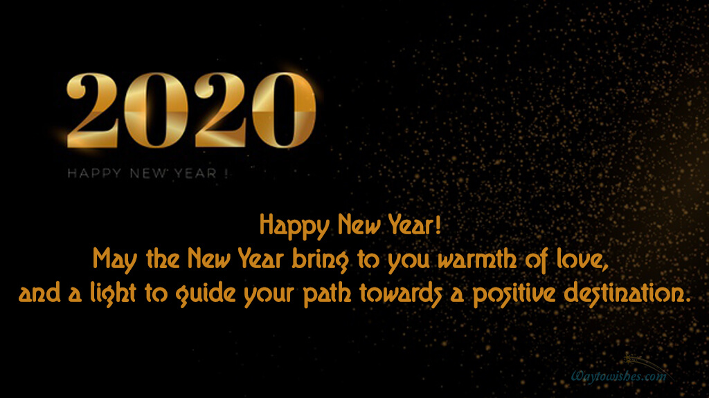 May The New Year Bring Warmth