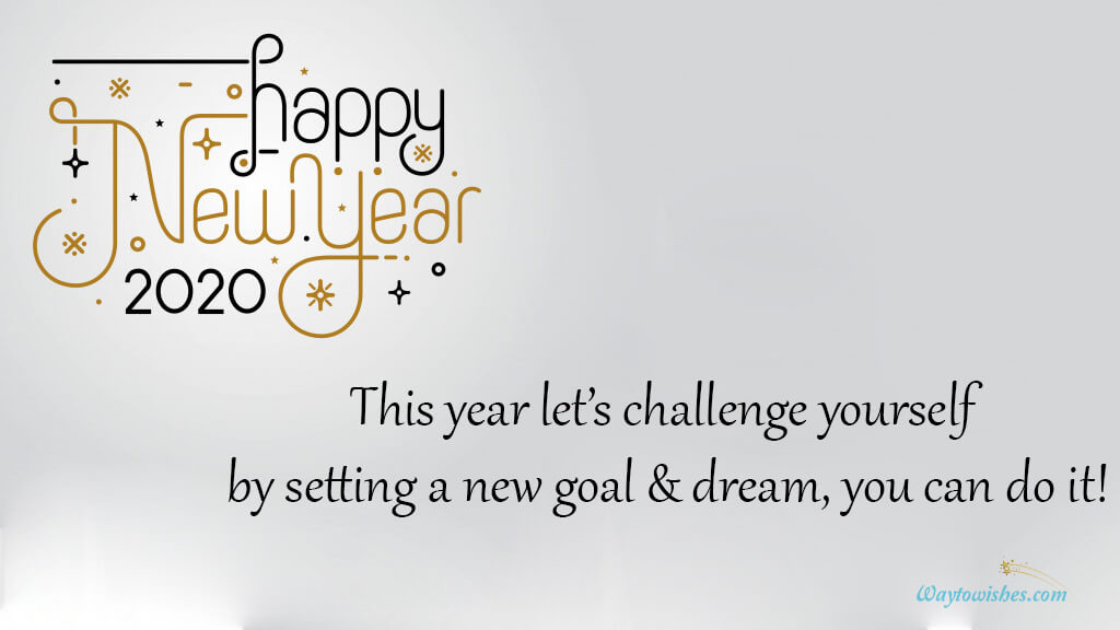 This Year Let Challenge