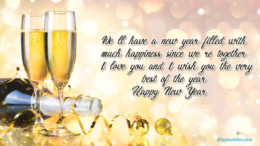 We Have A New Year