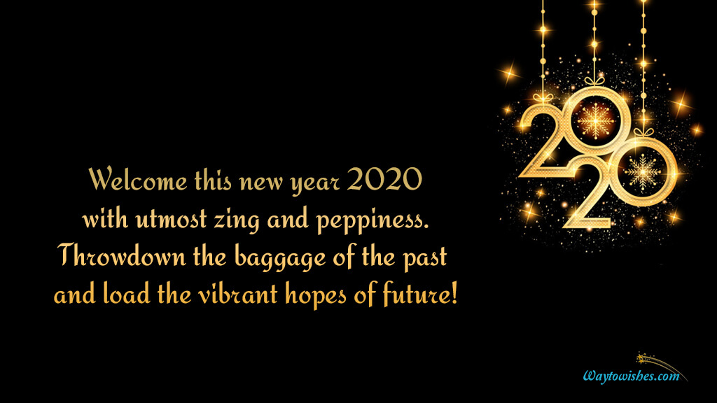 Welcome This New Year