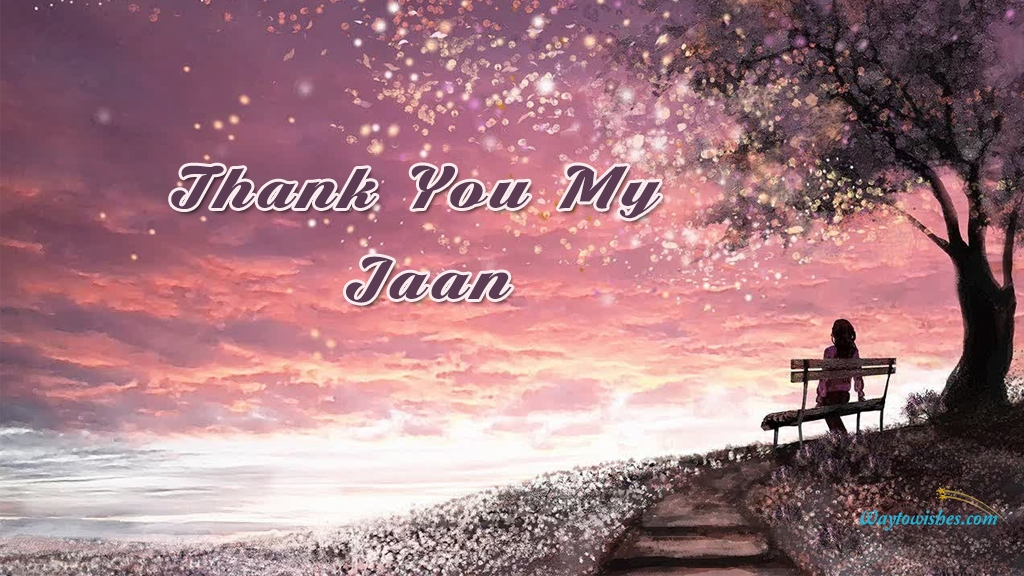 Thank You My Jaan