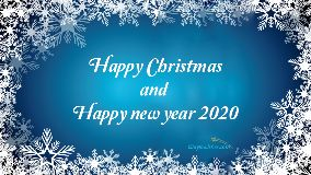 Happy Christmas And Happy New Year 2020