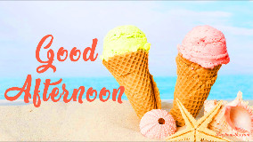 Good Afternoon Ice Cream