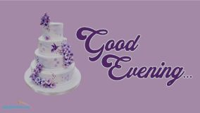 Good Evening Cake Images