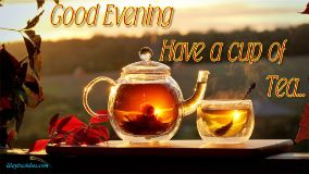 Good Evening Have A Cup Of Tea