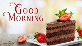 Good Morning Cake Images