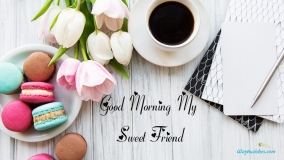 Good Morning My Sweet Friend