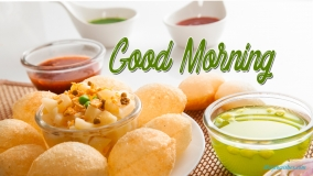 Good Morning Pani Puri