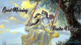 Good Morning Radhe Krishna
