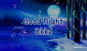 Good Night Akka