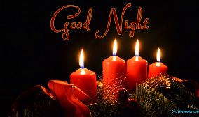 Good Night Candle