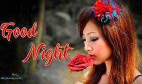 Good Night Cute Girl