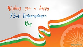 Wishing you a Happy 73rd Indepence Day