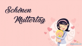 Happy Mothers Day In German