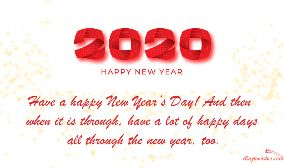 Have A Happy New Year Day
