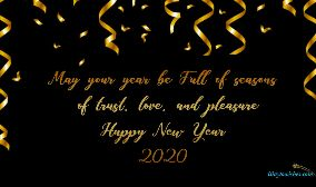 May Your Year Be Full