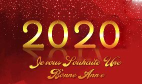Wish You Happy New Year 2020 In French