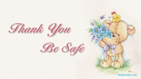 Thank You Be Safe