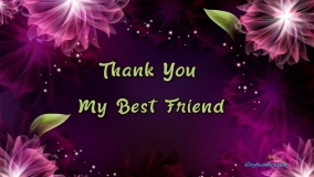 Thank You My Best Friend