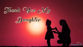 Thank You My Daughter