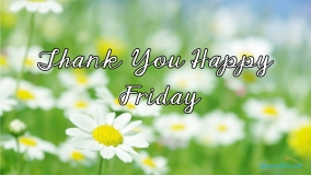 Thank You Happy Friday