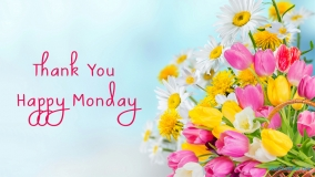 Thank You Happy Monday