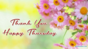 Thank You Happy Thursday