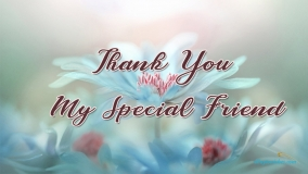 Thank You My Special Friend