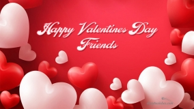 Happy Valentines Day Friends