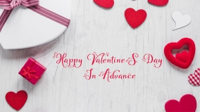 happy valentines day in advance