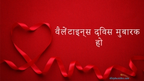 happy valentines day in hindi