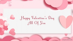 happy valentines day to all of you