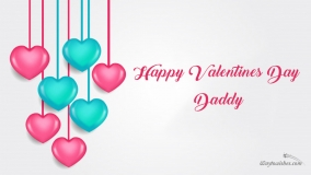 happy valentines day to daddy