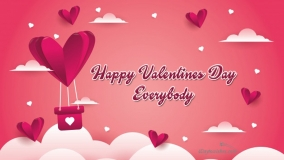 happy valentines day to everybody