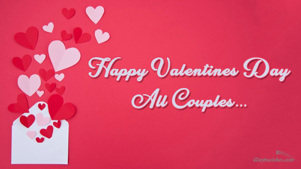happy valentine day to all couples