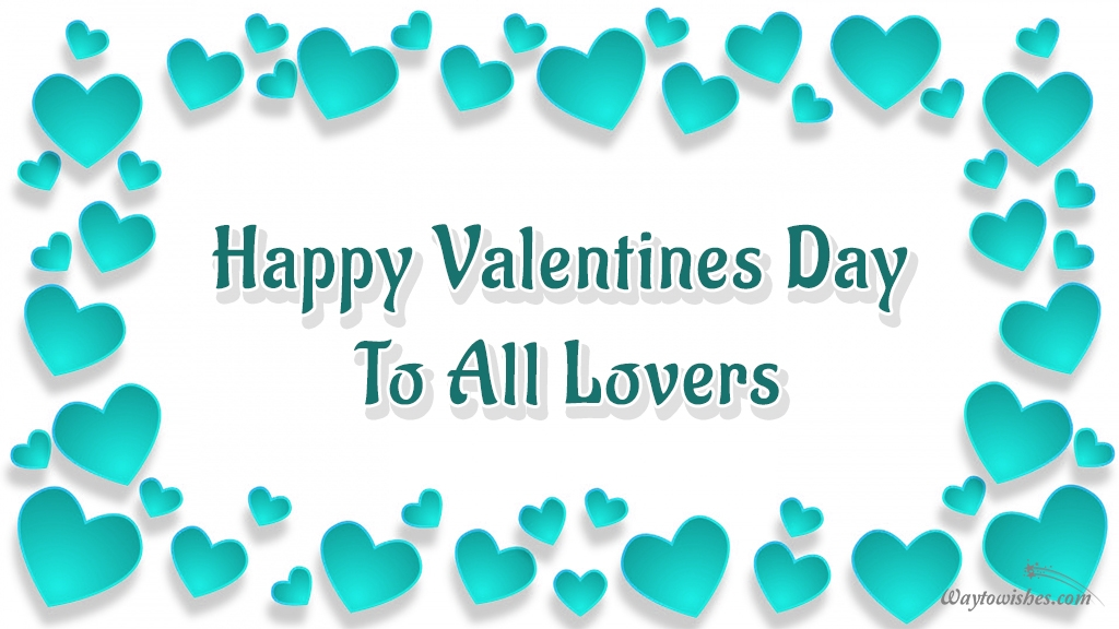 Happy Valentine Day To All Lovers