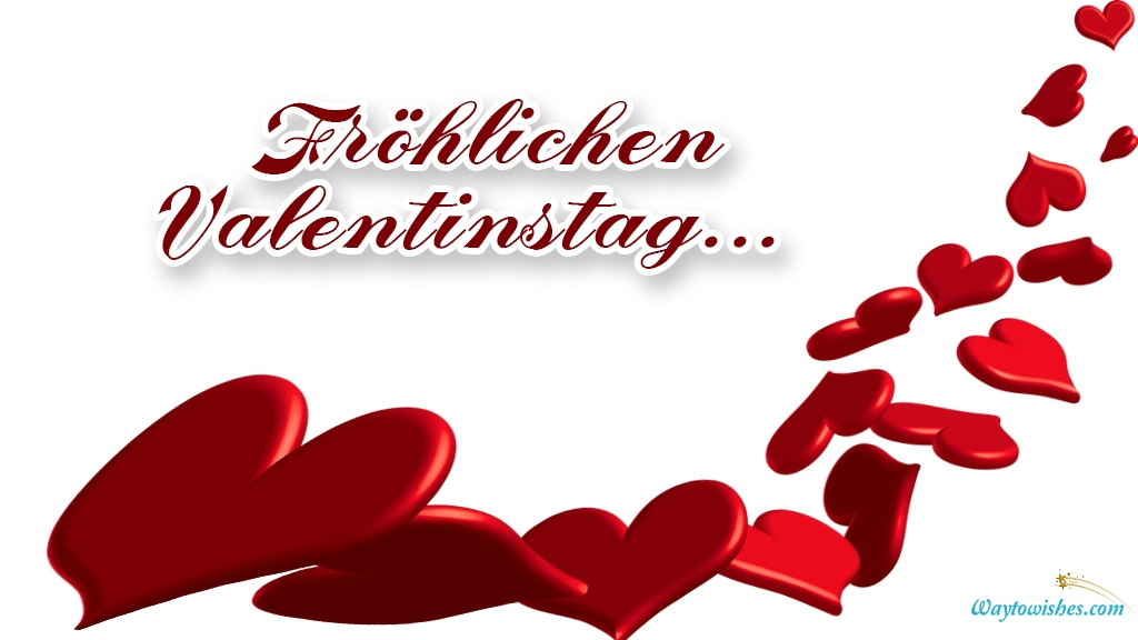 happy valentines day in german